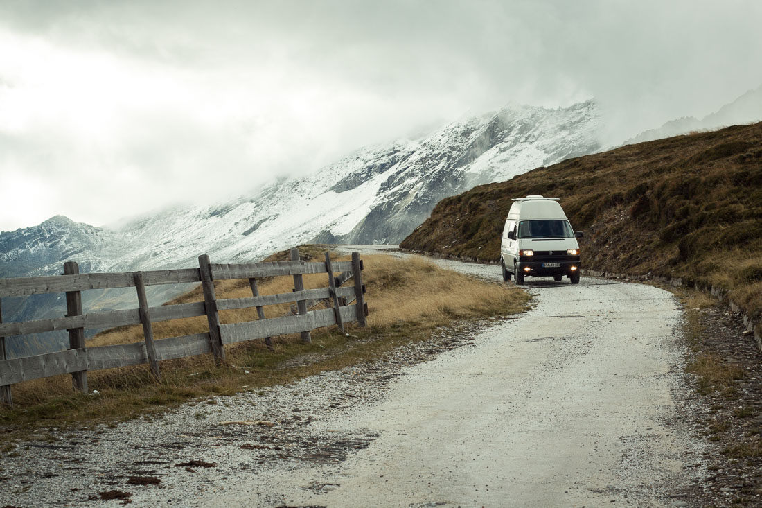 T4 Travel Südtirol Pfitscherjoch Offroad