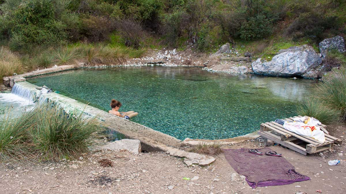 hot springs thermopiles