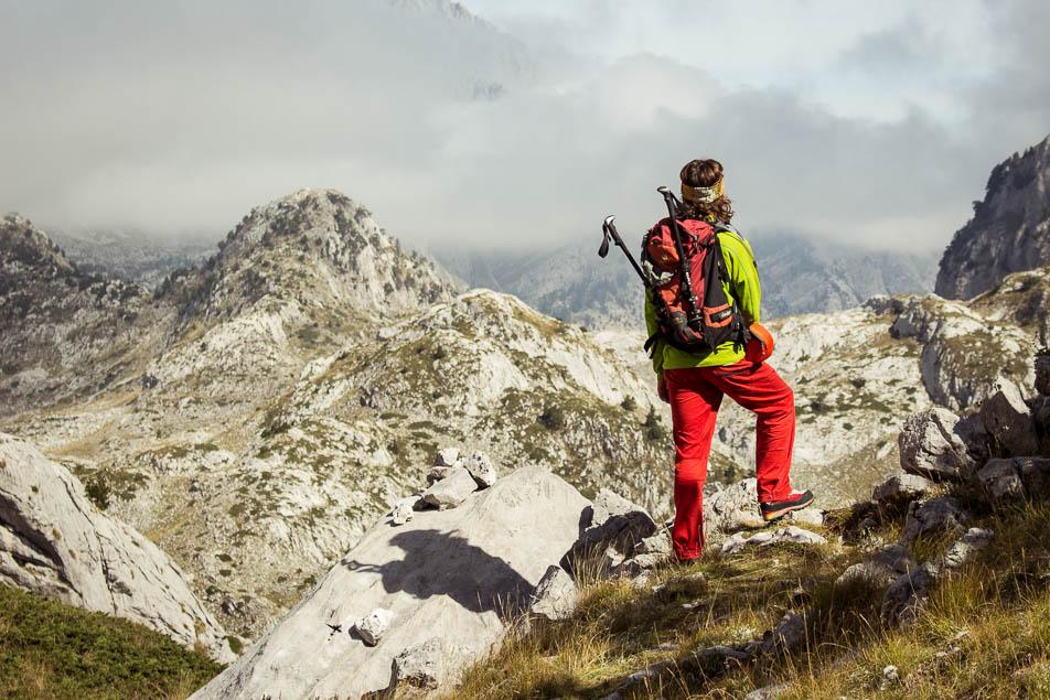 Bergsteigen in den albanischen Alpen, die Besteigung des Arapi