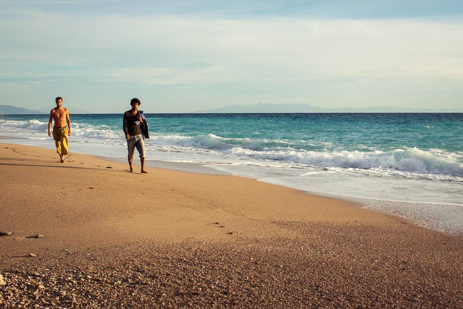 Traumhafter Strand in Albanien am Gjipe BEach