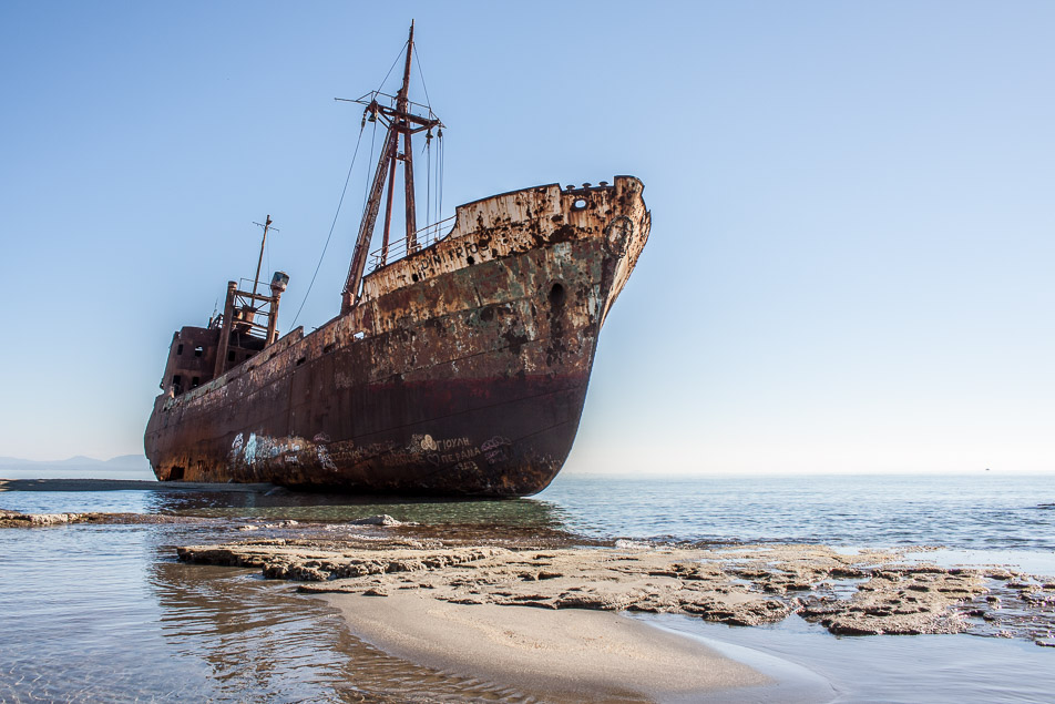 greece ship wreck Dimitrios-